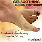 PAIR GEL Big Hammer TOE Bunion Corns Gout Arthritis Foot PAIN Support Protection
