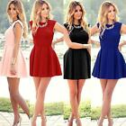 Fashion Women Summer Office Bodycon Evening Party Cocktail  Mini Dress Gift SS