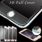 3D Colourful Full Glass Tempered Glass Screen Protector for iPhone 6s 6 Plus New