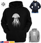 Jellyfish Jelly Fish scuba diving Hoodie Jumper Men's Ladies Size Funny T-Shirt