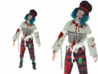 Zombie Mad Hatter Mens Halloween Fancy Dress Costume M,L