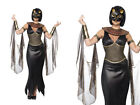 Egyptian Cat Ladies Fancy Dress Cleopatra Costume Sizes 8-18