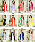 Ladies Trendy Casual Long Sleeve Cardigan Thin Sweater Coat Outwear Tops 11Color