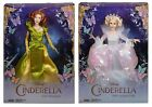 NEW Disney Cinderella Collection Dolls Lady Tremaine Fairy Godmother Collectable