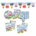 PEPPA PIG Birthday Party Tableware & Decorations (Napkins/Plates/Loot Bags) 2016