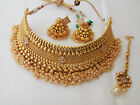 indian Fashion Jewelry bollywood Bridal gold plated traditional Nacklace set