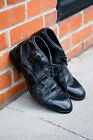H By Hudson Mens Black Cruise Leather Chukka Lace Shoes Shoes Boots 6 40 - 10 44