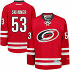 Reebok Jeff Skinner Carolina Hurricanes Mens Red Home Premier Jersey NHL