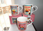 FINE CHINA MUG CUPCAKES BOXED CHOICE 3 COLOURS