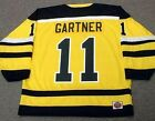 MIKE GARTNER Cincinnati Stingers 1978 WHA Vintage Throwback Hockey Jersey