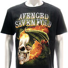 Sz S M L XL XXL 2XL Avenged Sevenfold A7X T-shirt Rock Black Many Size Av22