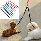 5 Colors Strong Double Dog Lead Leash Couple Pet Collar Leash for Collar Harness