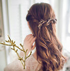 Vintage 2pcs Antlers Tree Branch Alloy Hairpin Hair Side Clip Pins Party Jewelry