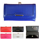 WOMEN'S PATENTED KISSLOCK PURSES WITH GIFT BOX CELEB STYLE LADIES PURSE 1051