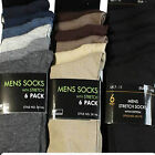 12 PAIRS mens SOCKS black thin summer rjm black & cols