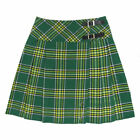 "Tartanista Womans 20"" Irish Tartan Wrap Around Knee Length Kilt Skirt 6-28"