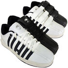 New Mens White Black Lace Up Velcro Sports Trainers Trainer School Shoes UK 7-12