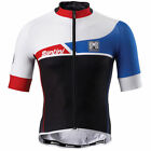 Union Short Sleeve Cycling Jersey - Black - Made in Italy by Santini