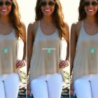 NEW Fashion women's Lace V-neck Sleeveless Summer Halter vest Shirt Blouse Tops