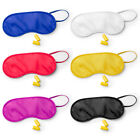 Sleep Eye Mask Travel Blindfold Shade Blinder Soft Elasticated Sleeping Rest Aid
