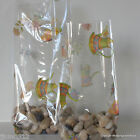 10 Think Spring Patterned Cellophane Gift Bags *Choose Size* Easter Cello Bags