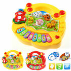 Baby Kids Animal Farm Good Educational Early Developmental Musical Piano Toy IDM