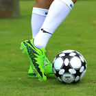Kids Youth Men Soccer Training Sports Football shoes Nail Cleats TF AG Shoes