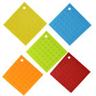 Kitchen Table Square Shaped Anti-slip Heat Insulated Pot Mat Pad Holder