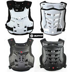 Motorcycle Motocross Bike Body Armor Back Guard Chest Protector Spine Gear
