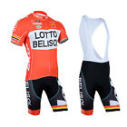 New Cycling Clothing Bicycle Jersey 3D GEL Padded Bib Shorts Suits Size S-3XL