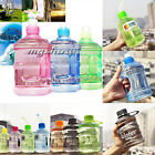 1L 1000ML Outdoor Sports Big Drink Large Water Bottle Kettle BPA Picnic Kiking