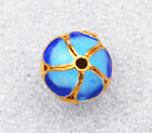 12mm cloisonne beads Plum Ball Jewelry accessories gifts #41