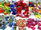22x29mm 8pcs RANDOM PAINT GRAPHICS ACRYLIC PLASTIC BUTTERFLY BEADS TY03430