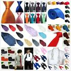 Men Silk/Knit Neck Tie Necktie Wedding Party Tie Scarf Handkerchief Multi Style