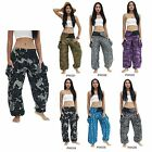 Pants PWG01-06 Thailand Cotton Boho Harem Baggy Genie Aladdin Casual Beach Women
