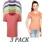 3-PACK-Russell tshirts Tops-Kids-Girls Heavy Duty T-Shirt-Crew Neck Short Sleeve
