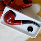 Durable Rosewood Enchase Smoking Pipe Tobacco Cigarettes Cigar Pipes Gift Wooden
