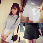 Fashion Womens Summer High Waist A-Line Shorts Pants Casual Wide Leg Hot Shorts#