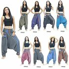 Pants PRN1-8 Thailand Pirate Modern Gypsy Hippie Tribal  Hmong Harem Women Men