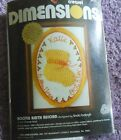 """YOUR CHOICE: DIMENSIONS CREWEL / GALLERY CREWEL KITS   5"""" x 7"""""""
