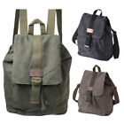 Mens / Womens Large Lightweight Canvas Backpack / Rucksack