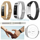 Mesh Milanese Stainless Steel Watch Band Strap Bracelet For Fitbit Alta Tracker