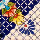 #C123 MEXICAN CERAMIC HANDMADE TALAVERA TILE SETS