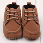 Toddler Baby Boy Faux Suede Sneakers Laces First Shoes Prewalker Non-slip DB2230