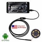 Waterproof 7mm 2/3.5/5M 6LED Android USB Endoscope Borescope Inspection Camera
