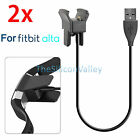 2x USB Charging Cable Replacement Charger Cord for Fitbit Alta Watch Tracker