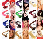 "AAA 20""-26"" Remy Human Hair Nail U Tip In Extensions 100s 0.5g/s 50g More Colors"