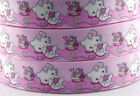1/5/10yds7/8''(22mm) Hello Kitty printed grosgrain ribbon Hair bow diy Y580