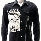Sz S M L XL 2XL Avenged Sevenfold A7X Long Sleeve Shirt Punk Tee Many Size Jav4