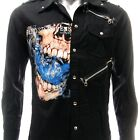 Sz S M L XL 2XL Avenged Sevenfold A7X Long Sleeve Shirt Punk Tee Many Size Jav15